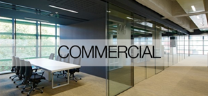 Klein commercial glass doors