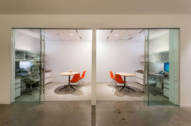 Commercial Interior Sliding Glass Doors commercial glass walls and doors projects - klein usa