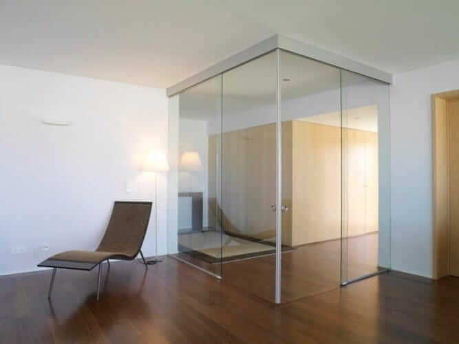 Corner doors klein usa for Corner sliding glass doors