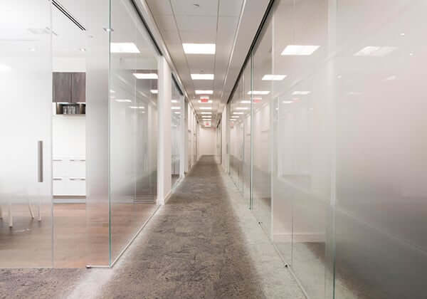 Commercial Glass Office Dividers