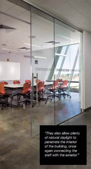 How Glass Office Partitions Brought The Landscape Into The Office