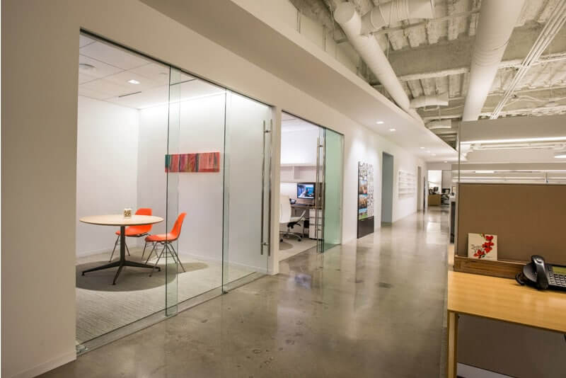 klein sliding glass door system gensler