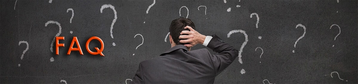 Image of guy scratching head on FAQ page