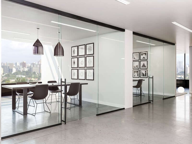Rollglass+ - Black - Offices