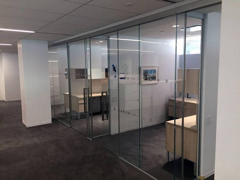 Image of Panoramic Glass Office Architectural Acoustics