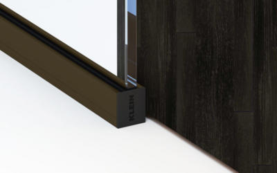Lignea Interior Glass Walls Bottom Track Bronze Black