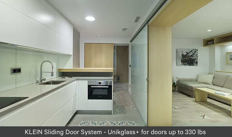 Architectural Glass Walls Unikglass+ 150 for Kitchen