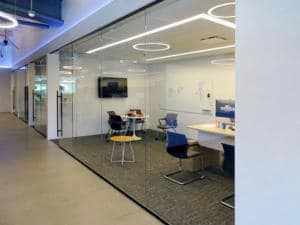 Sliding Glass Walls Rollglass+ Installation at Quest Nutrition